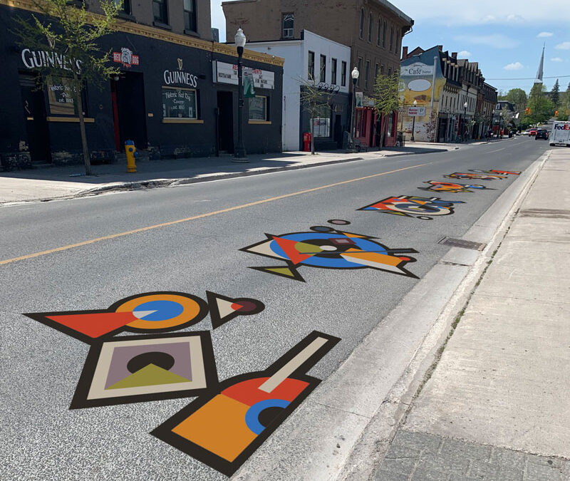 Renaissance on Hunter: Mural Project for the City of Peterborough
