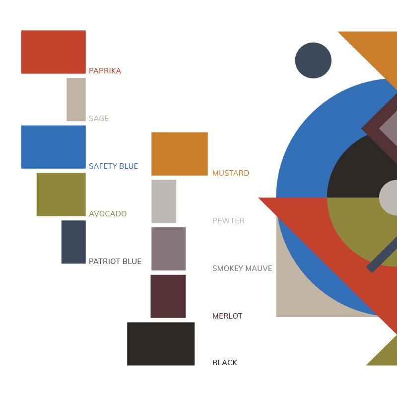 Hopscotch PTBO Colour Palette