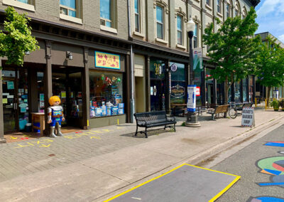 Downtown Peterborough Hunter St. West Businesses